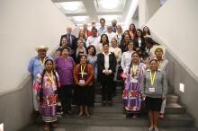 Representantes de las Organizaciones miembros del MovDLC